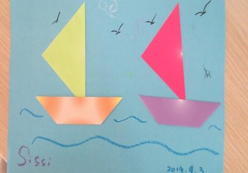 纸帆船的折法大全图解