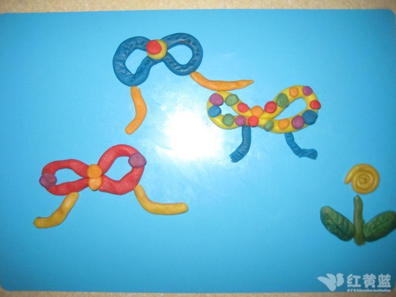 幼儿园蝴蝶结图片大全图解