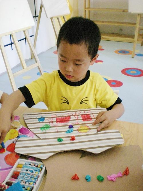 幼儿园美工区域反思