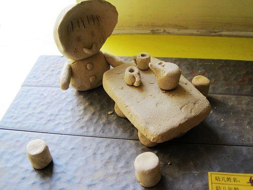 优秀儿童陶泥作品