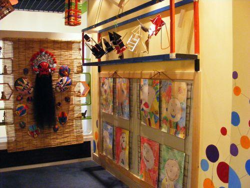 孩子们的创意美术工作室图片