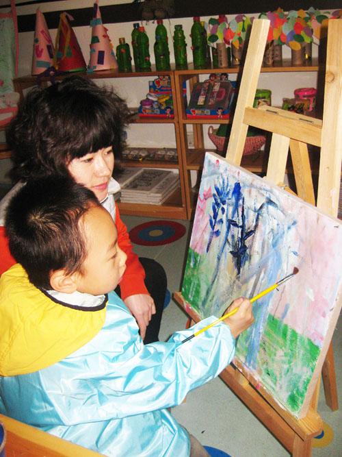 儿童西洋画图片