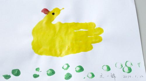 学生手印画; 小班美术手印画教案