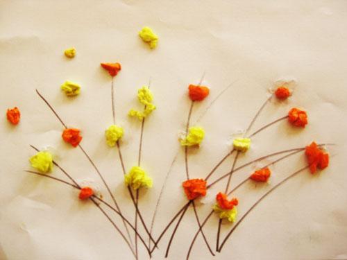 创意手工——迎春花