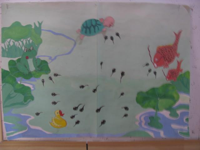 手工创意画 _ 红黄蓝|早教|早教中心