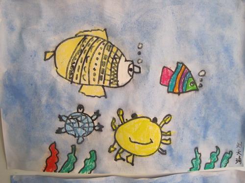 中班作品—海底世界