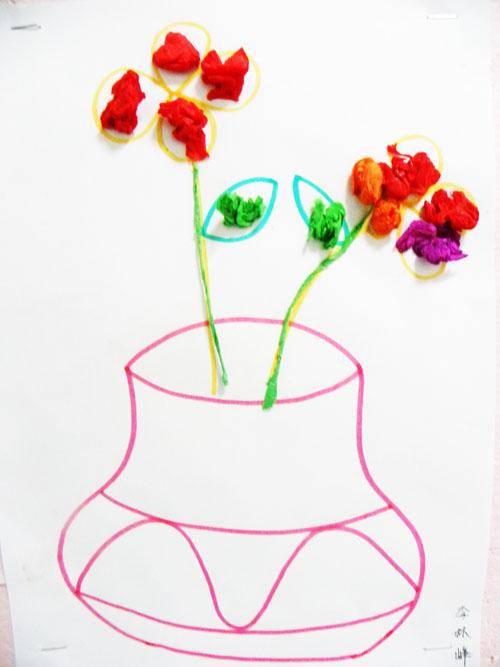 欧式花瓶卡通图