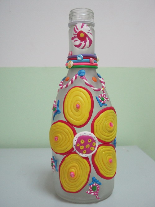 儿童创意软陶作品