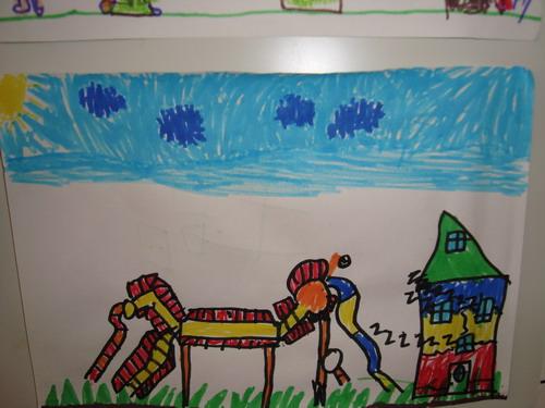 作品名称:我爱我的幼儿园