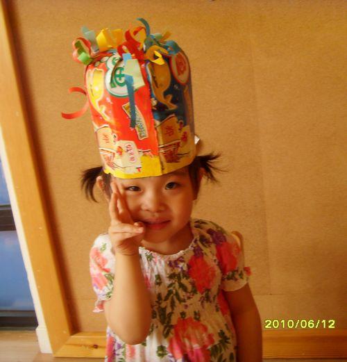制作我们小朋友自己喜欢的帽子