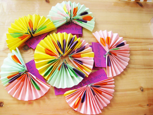 儿童手工制作扇子