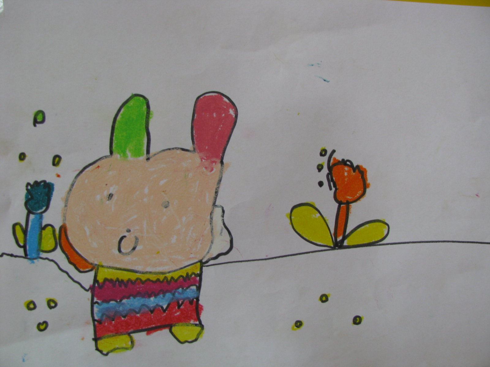 简笔画——可爱的小兔子