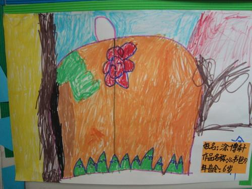 幼儿园书包画画图片