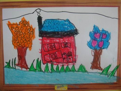 思维绘画——冰淇淋房子