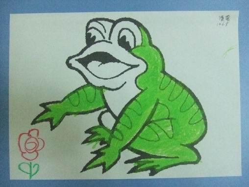 小青蛙,呱呱呱