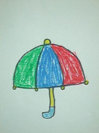 小雨伞 _ 红黄蓝 早教 早教中心