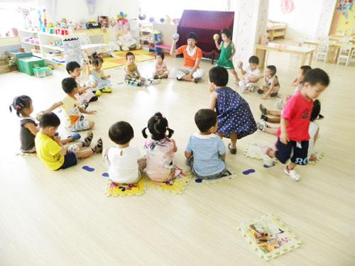 幼儿园的快乐生活
