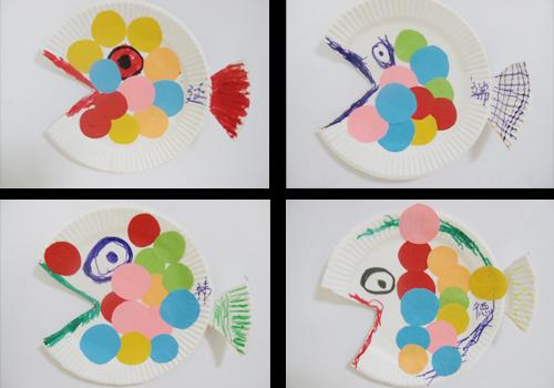 纸盘鱼图片