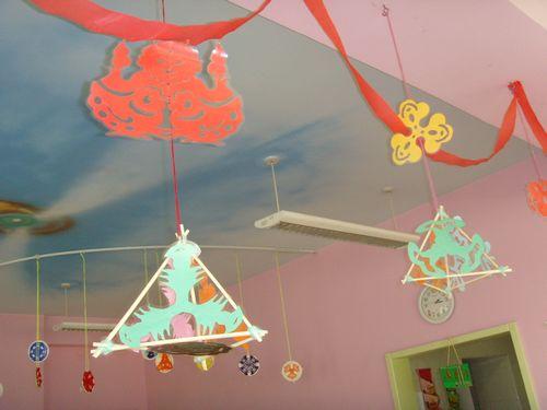 幼儿园吊饰手工制作环保