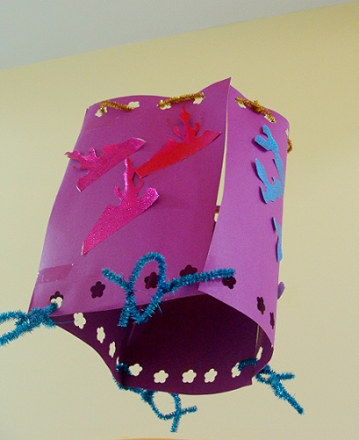 纯手工制作的纸灯笼