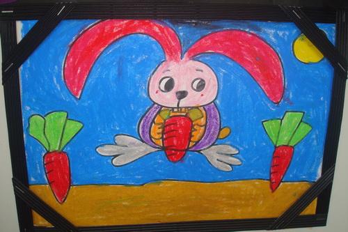 小兔子吃萝卜图片_小兔子吃萝卜_小兔子吃萝卜在线小游戏_小兔