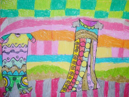 我设计的高楼大厦儿童画