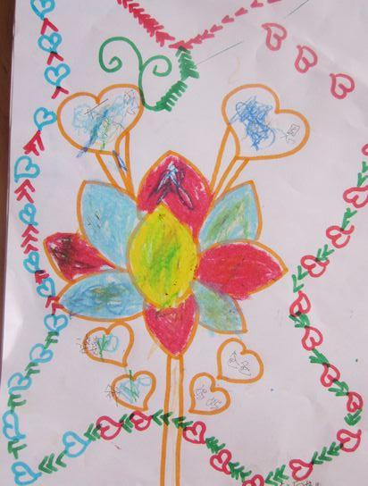幼儿园感恩节手工制作画