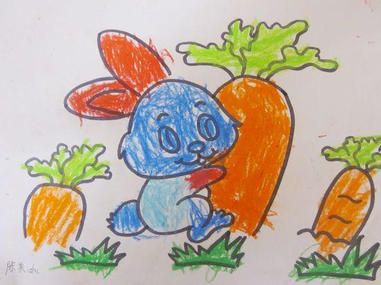 小兔拔萝卜