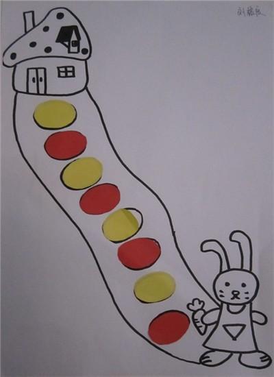 小兔子贴纸