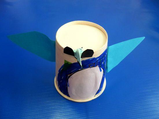 幼儿园纸杯手工制作企鹅