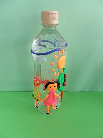 盒儿和矿泉水瓶,让孩子