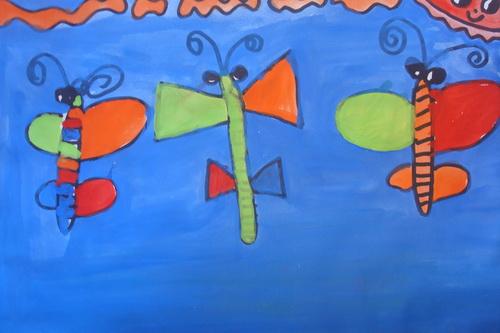 作品名称:三只蝴蝶