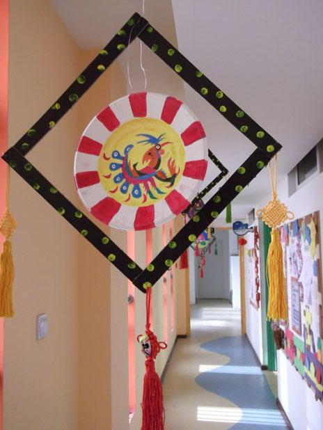 幼儿园装饰窗子春天图片卡通