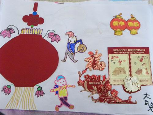 儿童新年快乐绘画; 元宵节幼儿绘画图片图片大全;
