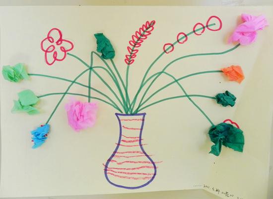 幼儿花瓶设计图片