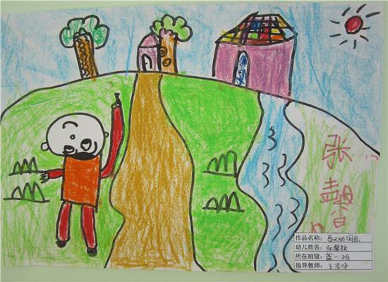 小学一年级春天简笔画