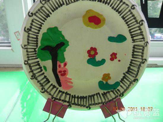 橡皮泥小创作 _ 红黄蓝|早教|早教中心