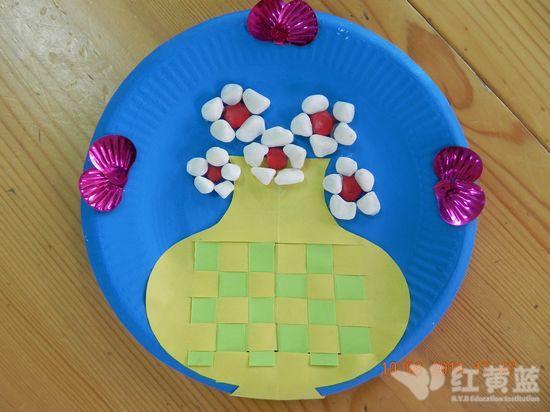 幼儿园纸盘月饼