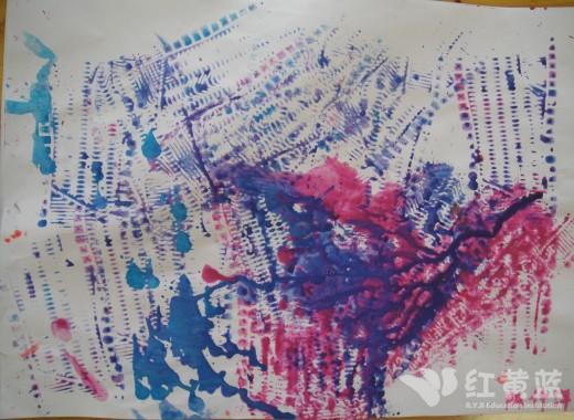 创意鞋画:儿童创意画获奖作品:创意画