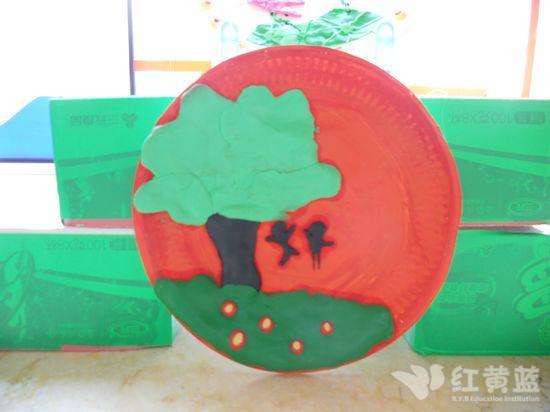 儿童纸盘子手工制作