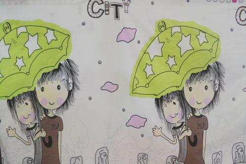 儿童作息卡通图片