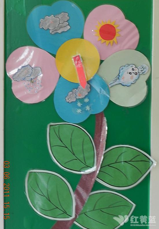 幼儿园教师绘画作品