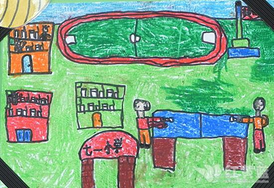 上小学儿童画; 小学原来是这样