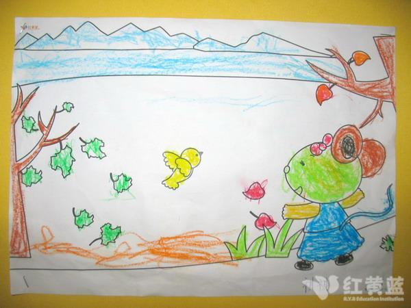 儿童秋天简笔画
