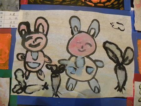 可爱小白兔 _ 红黄蓝|早教|早教中心