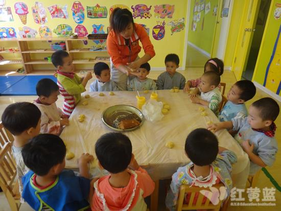 中秋节活动 _ 红黄蓝|早教|早教中心