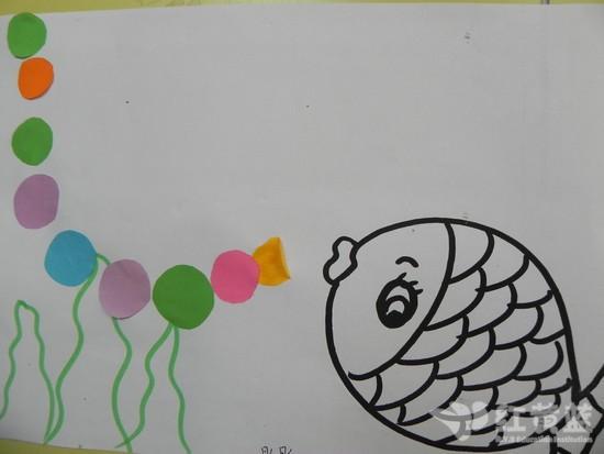 儿童小鱼简笔画彩色