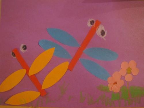 绘画作品—蜻蜓
