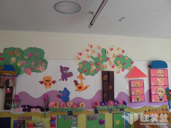 幼儿园班级门口布置图片展示下载;