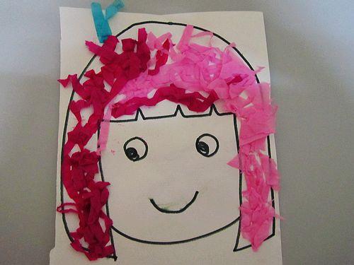 幼儿梳头发步骤图片